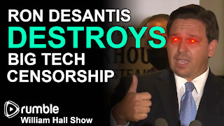 Ron DeSantis DESTROYS Big Tech Censorship, Proposes MASSIVE Fines