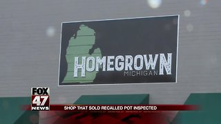 State Inspects Lansing medical marijuana shop