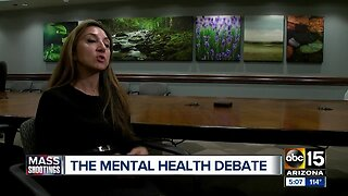 The debate around mental health and mass shootings