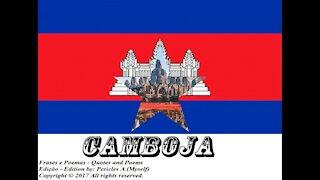Bandeiras e fotos dos países do mundo: Camboja [Frases e Poemas]