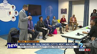 Park Heights community hears from mayoral candidates