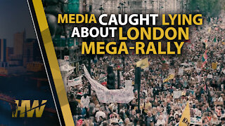MEDIA CAUGHT LYING ABOUT LONDON MEGA-RALLY