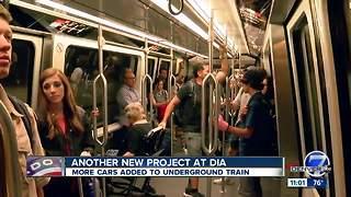 New underground trains coming to Denver International Airport