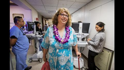 Suicide survivor thanks staff at Queen's Medical Center