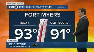 Forecast: Another record setting day in store Sunday
