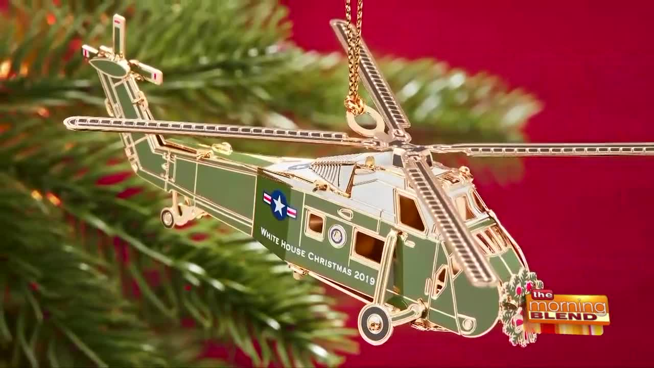 The 2019 White House Christmas Ornament is Unveiled