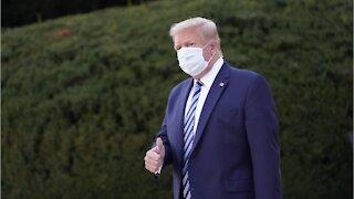 Twitter Flags Trump's Immunity Tweet