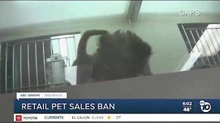 Retail pet sales ban