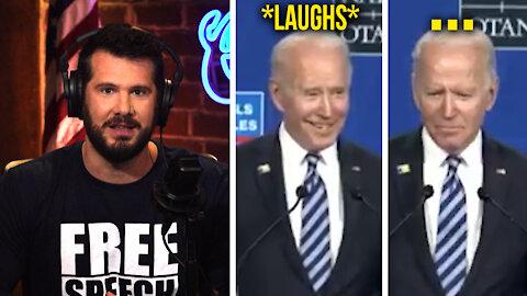 Biden's Dementia FLARES UP When Asked About Putin   Louder With Crowder