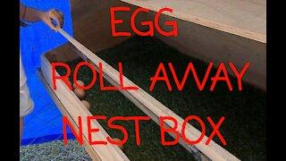 Chicken Egg roll away box