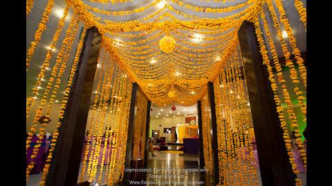 wedding arrangement style in Pakistan