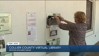 Collier County Libraries offering online services