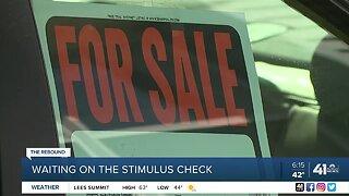 Waiting on the stimulus check