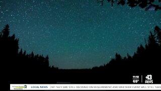 Lyrid meteor shower peaks overnight