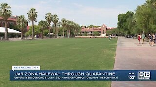 UArizona deals with spike of COVID cases