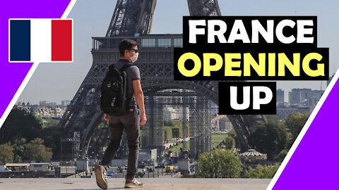FRANCE Opening UP ONLY 5% Jabs / Hugo Talks #lockdown