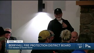 Four members resign from Berryhill Fire Protection District Board
