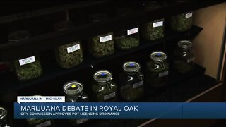 Royal Oak city commissioner approves pot licensing ordinance