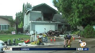 Fire burns Chula Vista home