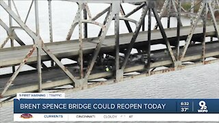 Brent Spence Bridge could reopen Tuesday