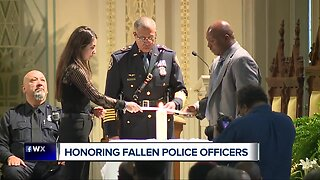 Detroit Police Department honors fallen officers in annual memorial