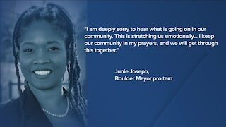 Colorado officials react to mass shooting at Boulder King Soopers