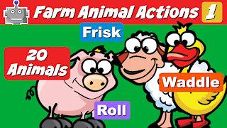 Animal Actions Farm Animals