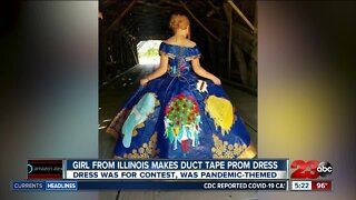 Check This Out: Duct tape prom dress
