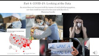 Infectious Disease History and Today - 4. COVID Data