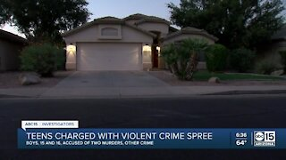 Valley teens accused in crime spree, murders