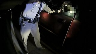Ohio police department share video of tense traffic stop