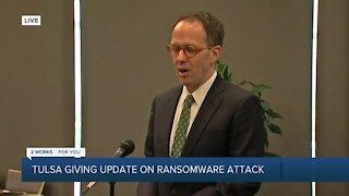 City of Tulsa ransomware press conference