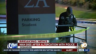 Man dies after altercation with police at MiraCosta College