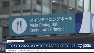 Tokyo 2020 Olympics COVID cases rise to 127