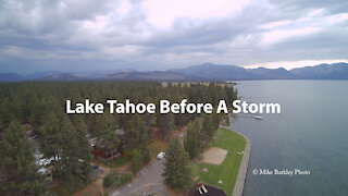 Lake Tahoe Before A Storm