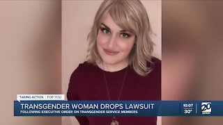 Transgender woman drops lawsuit after Biden overturns Trump's military policy