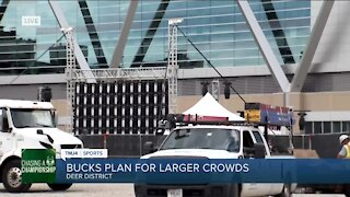 Milwaukee Bucks hope to 'increase the footprint' for fans during game-day watch parties