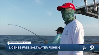 No license required Saturday for saltwater fishing in Florida