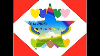 Your smile is more beautiful than a rainbow [Quotes and Poems]