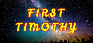 Word of God – First Timothy – Book 54 – NIV