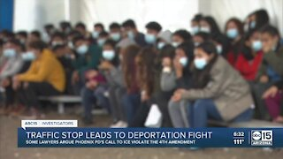 Traffic stop leads to deportation fight