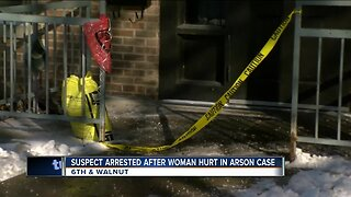 One person arrested in connection to suspected arson, police say