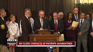 Cleveland Mayor Frank Jackson, health officials hold press conference after Gov. Mike DeWine confirms 3 positive COVID-19 cases in Cuyahoga County