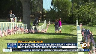 Fort Rosecrans Memorial Day ceremony continues thanks to community support