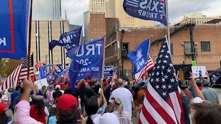 Stop the Steal Rally March - Dallas Texas