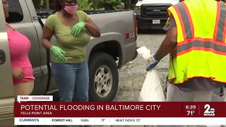 Baltimore prepares for Hurricane Isaias