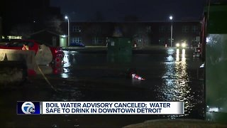 Boil water alert lifted for parts of downtown Detroit