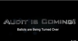 Maricopa County, Arizona Update: Ballots are Being Turned Over and Audit is Coming