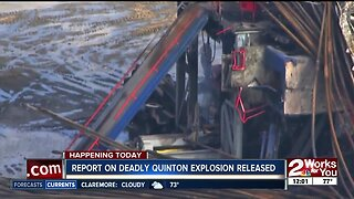 Report on deadly Quinton explosion released