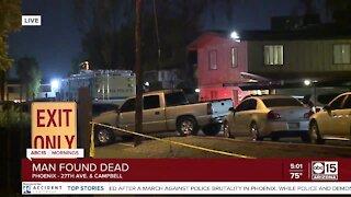 Homicide investigation in Phoenix